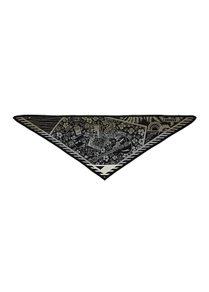 Electronic Sheep 'Rock n Roll Bed' Triangle Scarf