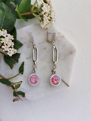 Tatiana Nestor Plush Pink Earrings