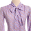 Thumbnail: Lilac Pussy Bow Blouse