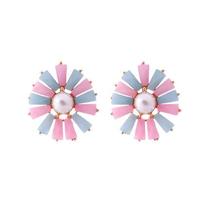 Pastel Petal Earrings