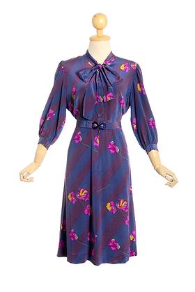 Lisianthus Vintage Dress