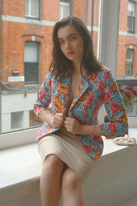 Anna Buzan Bespoke Floral Jacket