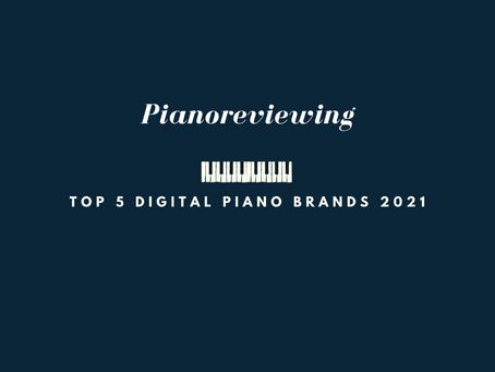 Top 5 digital piano brands 2021