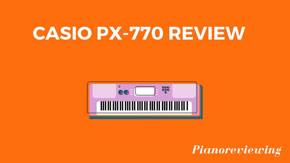 Casio px-770 picture