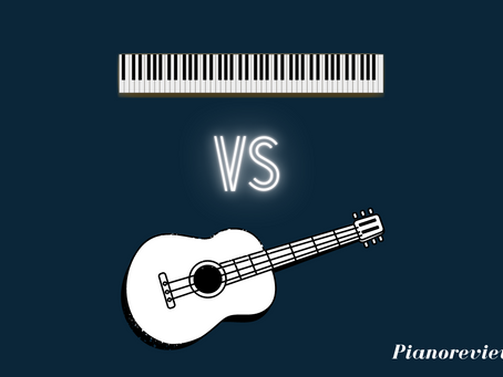 Piano vs guitar: Is it easier to learn piano or guitar?