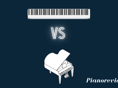 Acoustic vs digital piano: What's the difference?