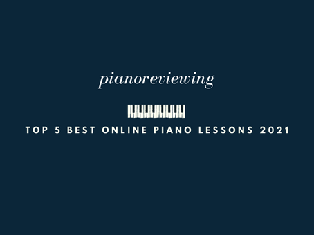 top 5 best online piano lessons 2021