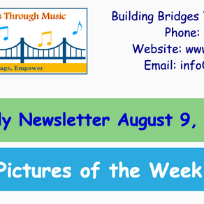 Weekly Newsletter August 9 | Field Trip Museum of Science
