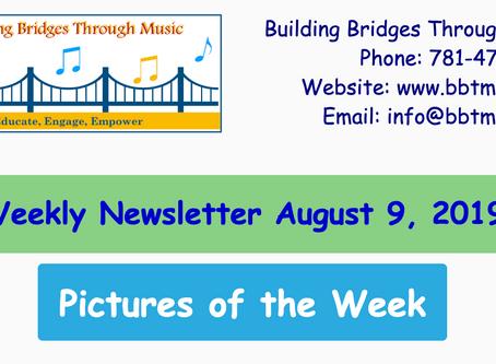 Weekly Newsletter August 9 | Field Trip Museum of Science