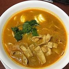 Oh Noh Kauswer (Coconut Noodle Soup)