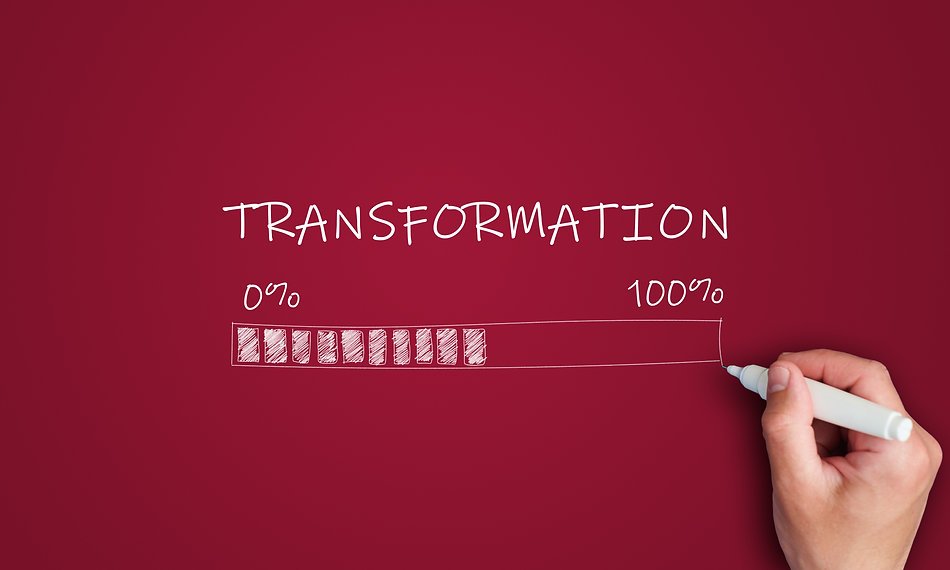 digital transformation concept. hand draws loading area from 0 to 100 percent.jpg
