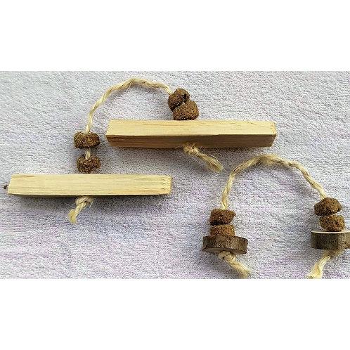 Binky Barley Wooden Throw (single)