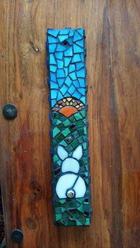 Mosaic Bunny Suncatcher