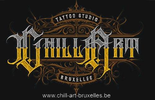 Logo du studio de tatouage Chill-Art Bruxelles