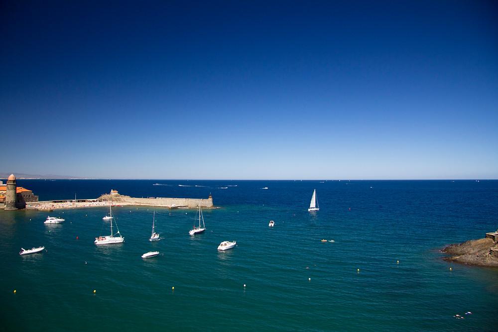 Amvilleneuve.com , La mer Méditerranée à perte de vue, Coullioure, France