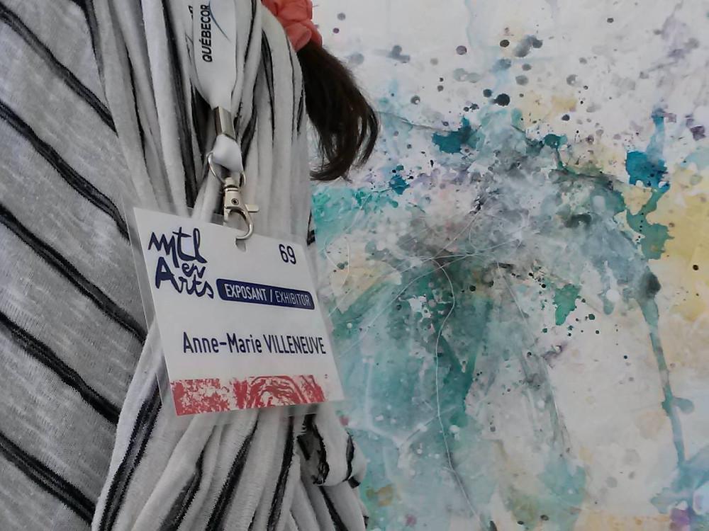 Anne-Marie Villeneuve à Mtl en Arts