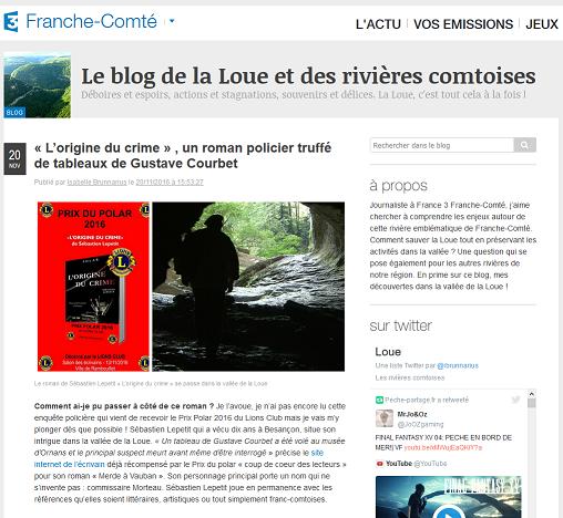 Le blog de la Loue et des rivières comtoises
