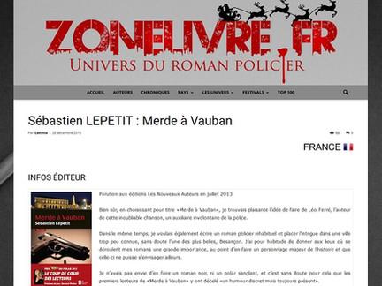 Merde à Vauban  Une chronique sur Zonelivre.fr