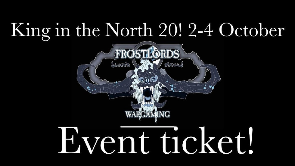 King in the North 20 Event Pass!