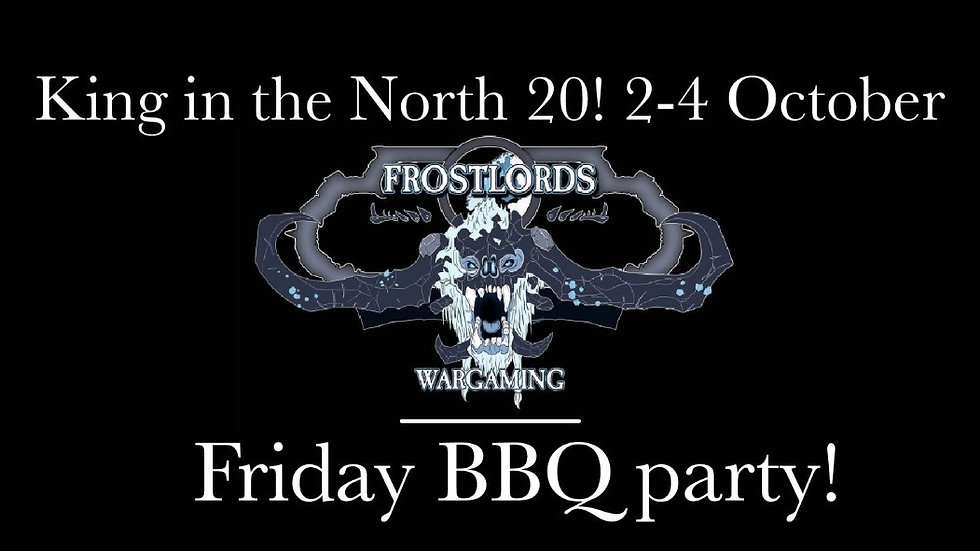 King in the North 20 BBQ party