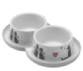 Cats In Love Double Trendy Dinner 2x 350ml / 2x 11.8 fl oz