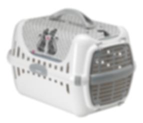 Cats In Love Trendy Runner Plastic Door - Pet Carrier