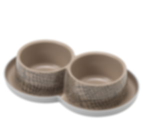 Wild Life Trendy Dinner Double Bowl -Themed Products