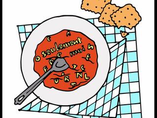 La soupe alphabet