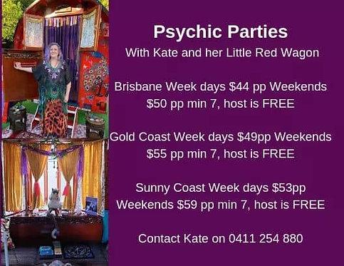 Psychic Parties - Gold Coast, Brisbane & Sunshine Coast