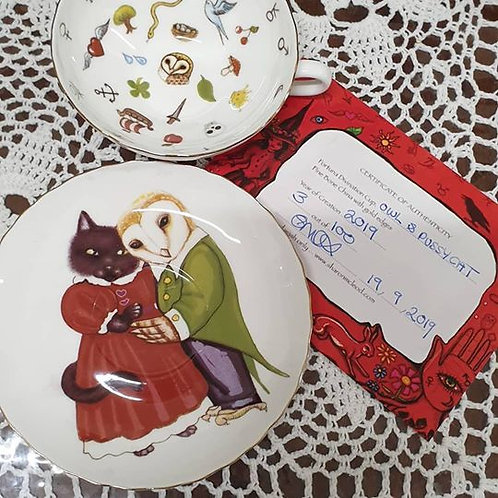 Owl and Pussy Cat Tea Cup