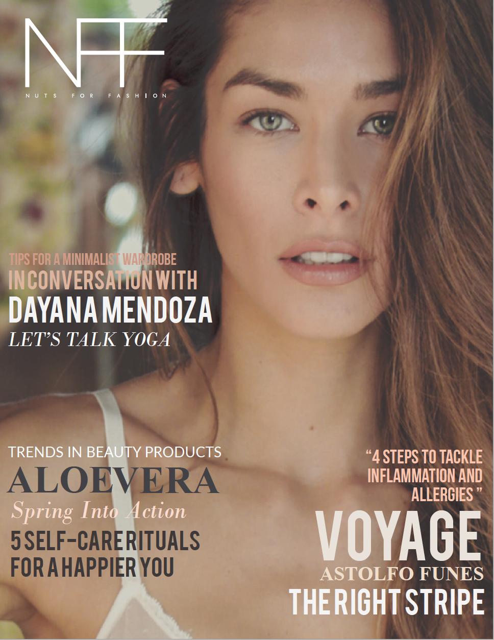 Dayana Mendoza Nuts for Fashion