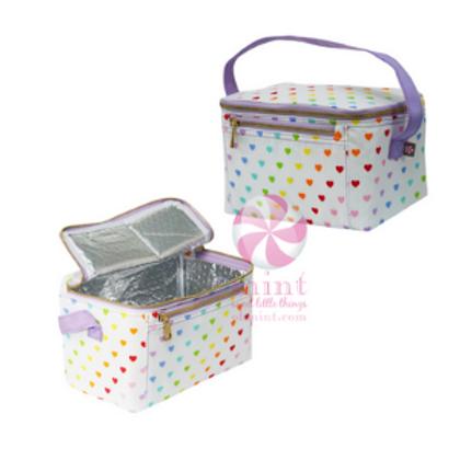 Mint Hearts Lunchbox