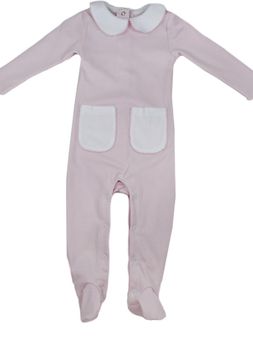 Lullaby Set Pink Baby Romper