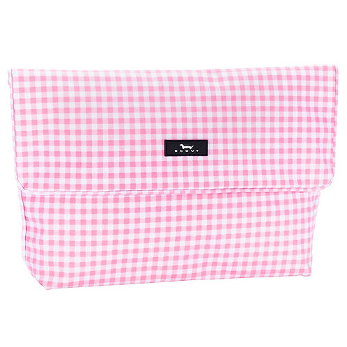 Scout Tourista in Pink Gingham-Wet Bag