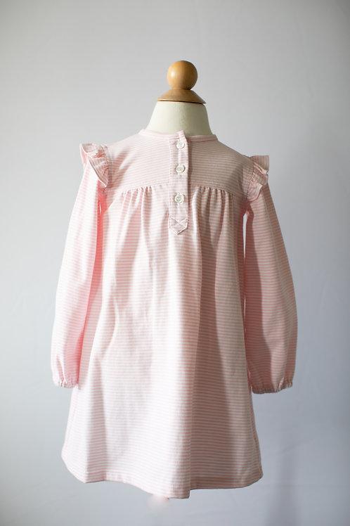 Peggy Green Pink Stripe Knit Dress