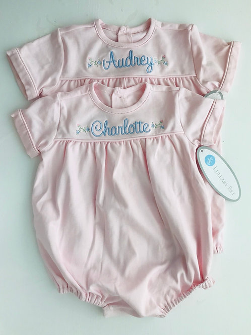 Lullaby Set Pink Pima Mother May Bubble