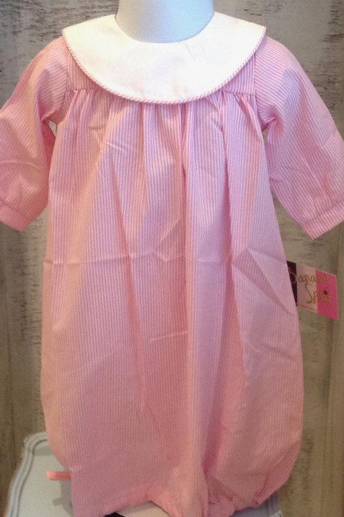 Banana Splits Pink Stripe Day Gown