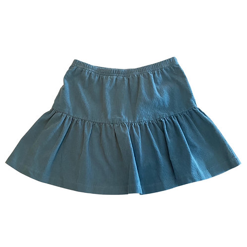 Bisby French Blue Cord Sally Skort