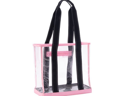 Scout clear winner tote in pink