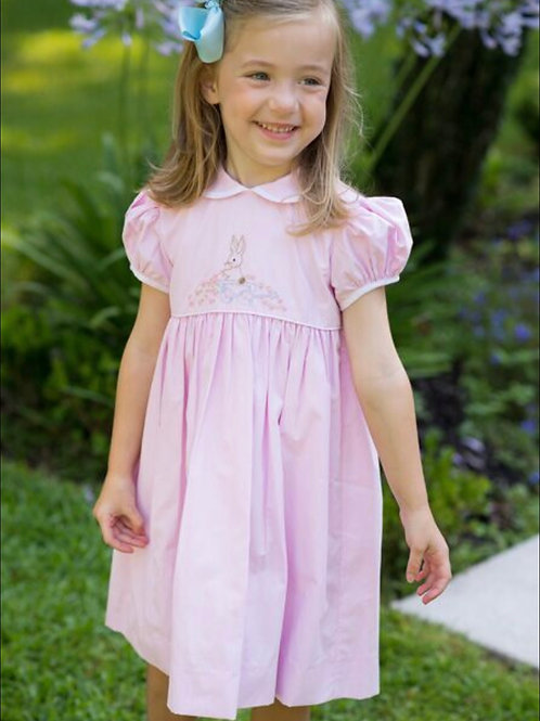 Lullaby Pink Bunny Dress 4t