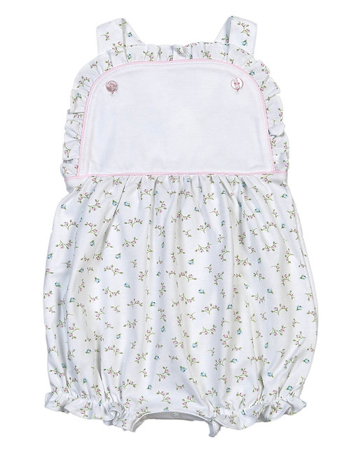 Baby Bliss Pima Pink Alice Floral Sun Bubble