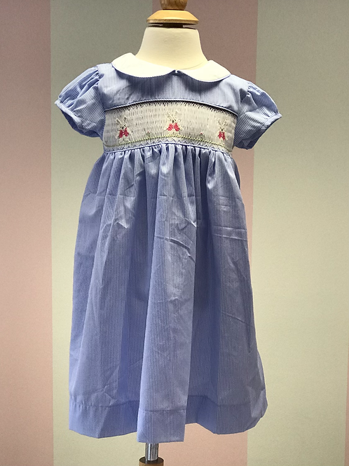 Sweet Dreams Smocked Bunny Dress