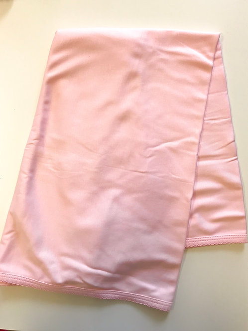 Paty solid pima pink blanket