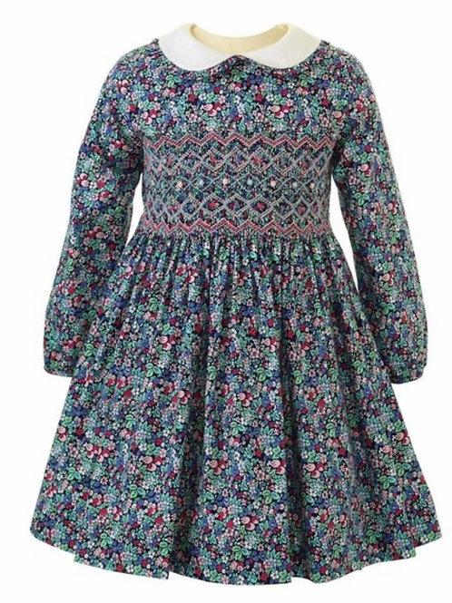 Rachel Riley Enchanted Forest Smocked Dress