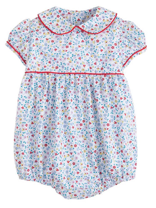 Little English Callaway Floral Charlotte Bubble 9 mo