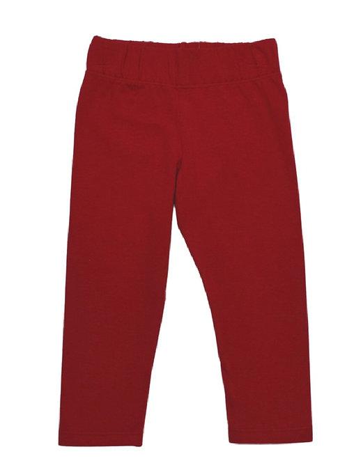 Lullaby Set Red Knit Leah Leggings