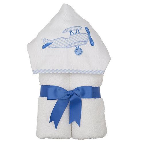 Airplane Hooded Towel-3 Marthas