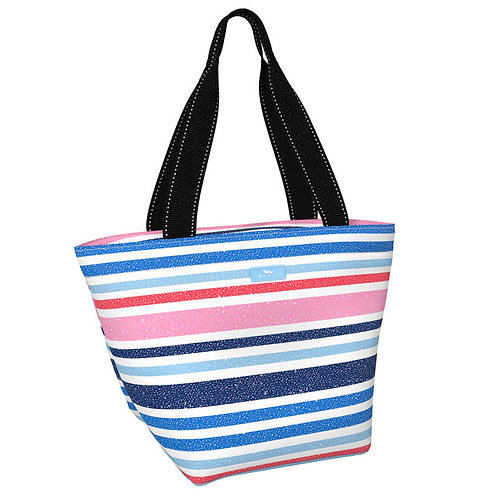 Scout Daytripper-Navy and Pink Stripes