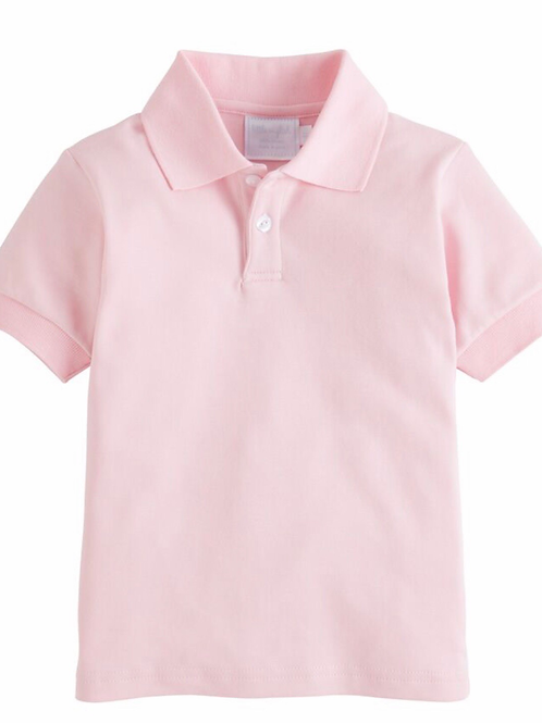 Little English Pink Polo