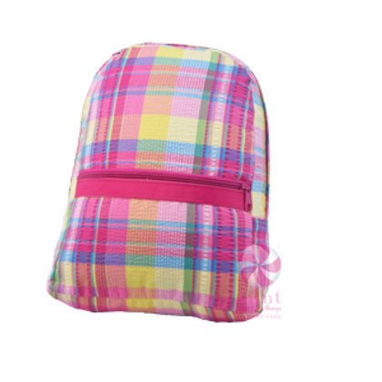 Popsicle Plaid Medium Backpack by Mint
